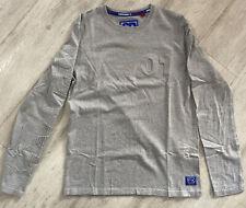 Mens Superdry Grey Longsleeved Tshirt Large