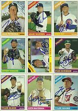 2015 Topps Heritage TYLER MOORE Signed Card auto AUTOGRAPH NATIONALS
