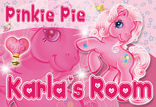 010 MY LITTLE PONY PINKIE PIE PERSONALIZED CUSTOMIZED DOOR ROOM POSTER