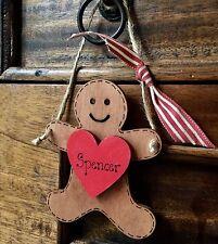 ALBERO di Natale personalizzata Decorazione Ornamento Insegnante Babbo Natale Segreto Regalo