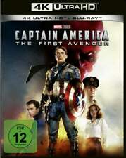 """""""CAPTAIN AMERICA The First Avenger"""" - MARVEL Action - 4K ULTRA HD BLU RAY 2 Disc"""