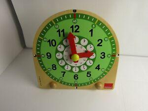 Jumbo Goula Wooden Clock