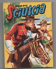 SCIUSCIA Album n°15 - du n°150 au n°159. SAGE 1952. TBE