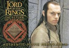 Lord of the Rings Return of King Elrond's Bronze Silk Robe Costume Card