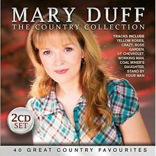 """MARY DUFF """"THE COUNTRY COLLECTION"""" Double Brand New CD IRISH COUNTRY MUSIC"""