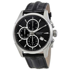 Hamilton Jazzmaster Automatic Chronograph Black Dial Mens Watch H32596731