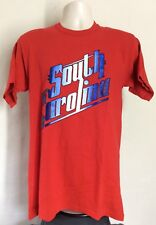 Vtg 70s Early 80s South Carolina T-Shirt Red M Sportswear 100% Cotton