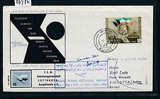 06976) LH FF Kuwait - Calcutta Indien 5.7.63
