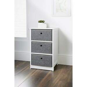 Easy Link Folding 3 Drawer Chest Storage Solution Assembles In Minutes Furniture