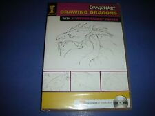 "DragonArt Drawing Dragons with J ""Neondragon"" Peffer (DVD, 2009) NEW!! #124"