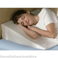 "7 "" Foam Bed Wedge Pillow w/Cover NEW + FREE SHIPPING"