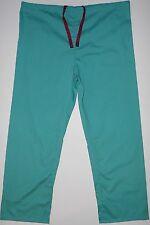 Fashion Seal Unisex Scrub Nurses Uniform Jade Green Pants Size 2XL  NWOT