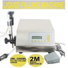 LIQUID FILLING MACHINE STAINLESS STEEL BOTTLING SEMI AUTOMATIC SELF-SUCK PUMP