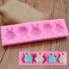 Kawaii Totoro Silicone Mold DIY Sugar Paste Fondant Template Hand Craft Tool