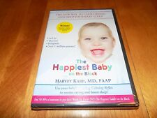 THE HAPPIEST BABY ON THE BLOCK Dr. Harvey Karp CALM CRYING Help Babies DVD NEW