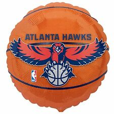 Atlanta Hawks Basketball Foil Balloon Licensed Tailgate Birthday Party