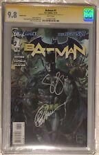 Batman #1 (2011) - CGC 9.8 - Van Sciver Cover - Signed 2x Snyder and Capullo
