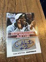 2012 Sage HIT Cam Newton Sophomore AUTO Autograph #A20 SP Carolina Panthers