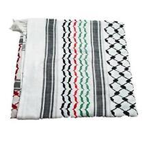 Original Palestinian Hirbawi Hatta Kuffiyeh Flag Colors