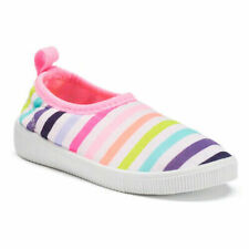 Carters Floatie Toddler Girls Rainbow Slip On Water Shoes Size 6 New $34.99