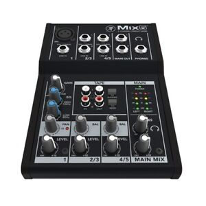 Mackie Mix5 Compact Mixer 5 Channel Pro Audio Equipment Portable BRAND NEW
