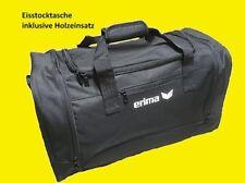 Eisstocktaschen, Farbe schwarz für Eisstock, Tasche, inkl. Holzeinsatz