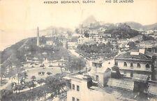 CPA BRESIL AVENIDA BEIRA MAR GLORIA RIO DE JANEIRO