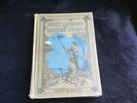 Vintage First Lessons in Nature Study Book by Edith M. Patch1926 First Edition