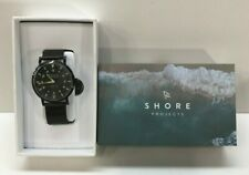 **NEW** SHORE Watch Projects More Camel Stainless Steel Water Resistant
