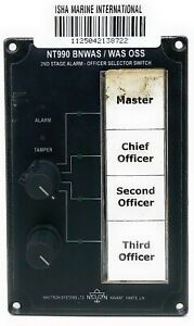 Navitron NT990 BNWAS/WAS OSS 2nd Stage Alarm- Officer Selector Switch