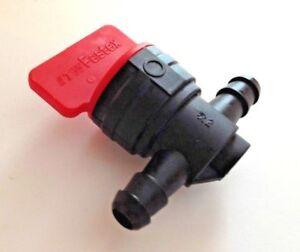 For Suzuki Fuel Hose Filter Inline Cut Shut On Off Valve Switch Motorcycle RMX