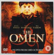 THE OMEN - promo sampler DVD no movie not for sale region 2 english language 158