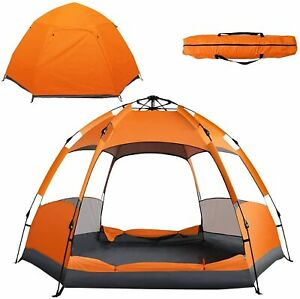 Phantomgogo Easy Pop Up Tent for Camping Waterproof Tent 4 person Brand New