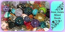 NEW 60/pc Jesse James Beads Loose beads lot Randomly picked *Free shipping*
