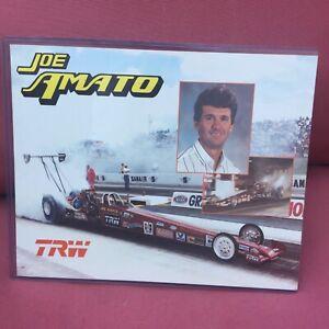 NHRA drag racing memorabilia, Joe Amato champion driver AA fuel dragster photo.