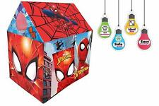Jumbo Size Extremely Light Weight Water Proof Spiderman Tent House Kids Toys Set