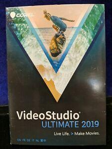 New Sealed Corel VideoStudio Ultimate 2019 Retail Full Version for Windows