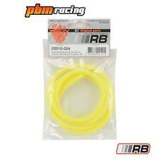 Tubería de combustible de Silicona Rc Nitro Rb Fluo Amarillo-RB-02010-024