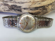 Used VINTAGE 1971 OMEGA Seamaster cadran argent Date Auto CAL:565 Man's Watch