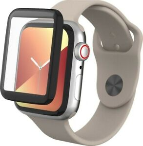 ZAGG - InvisibleShield GlassFusion Screen Protector for Apple Watch Series 4