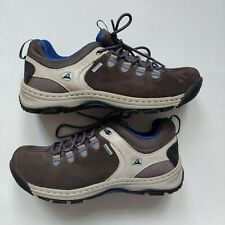 Womens Clarks UK6D Grey Walking Hiking Boots Shoes Gore Tex Active Air Outdoor