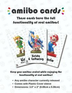 "Zelda & Loftwing Amiibo Card, 3.5"" x 2"" (or any other amiibo!)"