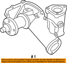 FORD OEM 97-02 E-350 Econoline Club Wagon-Engine Water Pump F81Z8501FA