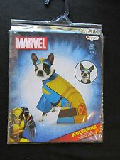 Marvel Wolverine Pet Dog Costume Size S by Disguise Superhero Halloween Dress Up