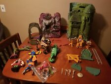 He-Man MOTU Heman Action Figures Vehicles Weapons Accessories Playsets