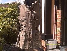 Italian Design Khaki Jacket/Waist Coat with Hood......2 Size'S 10 and  12