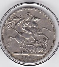 Sharp   1951   King  George  VI   Large  One  Crown  Coin