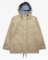 French Connection Bonded Cotton Rain Mac Timber Mens Size UK XS *REF83