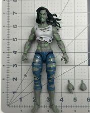 """1/12 scale Marvel Legends 6"""" figure series Fantastic four Super skrull She Hulk"""