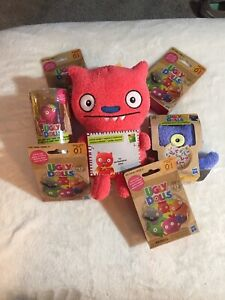 Ugly Dolls Figure Mix Lot 7 Piece With Surprises Funky Cute New In Package